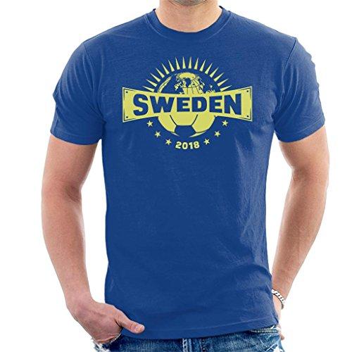Coto7 Sweden Half World Football Championship 2018 Men S T-Shirt hot sale 40b2fa5cc2f49