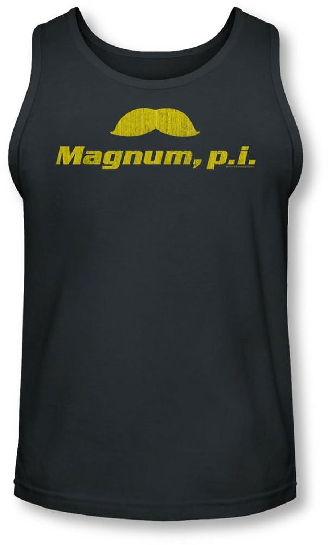 Magnum Pi - Mens The Stache Tank-Top