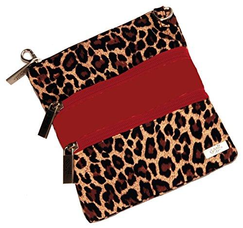 Glove It Women's 3 Zip Bag (Leopard)