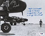 WWII P-61 Lady In The Dark Lee Kendall Signed