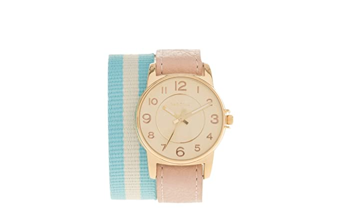 Parfois - Reloj Redondo Double Colorful Bracelet - Mujeres - Tallas M - Rosa: Amazon.es: Relojes
