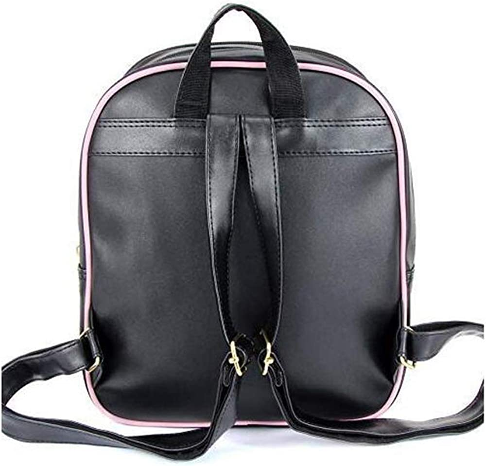 Ita Bag Backpack Bowknot Candy Leather School Bag Purse Transparent Window Daypack Satchel