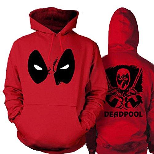 Marvel Comics Deadpool Thicken Pocket Hoodie Pullover