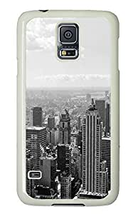 cool Samsung Galaxy S5 cover Black And White City PC White Custom Samsung Galaxy S5 Case Cover
