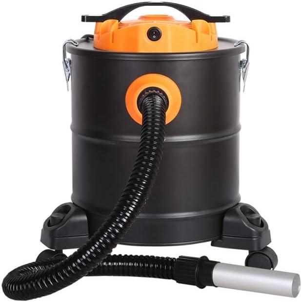 Aspirador de cenizas 1200W con dep/ósito de 20L y ruedas para chimeneas estufas barbacoas PURLINE HAVC-04