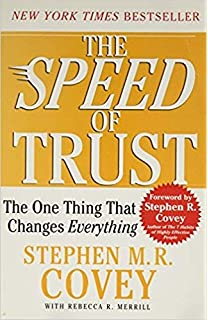The Speed Of Trust Stephen Covey Pdf