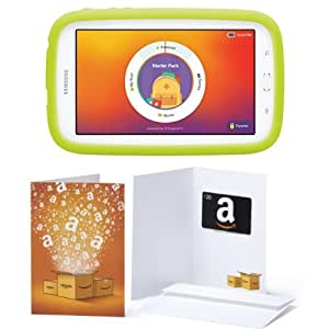 samsung galaxy kids edition tab 3 lite with 20 amazon gift card computers. Black Bedroom Furniture Sets. Home Design Ideas