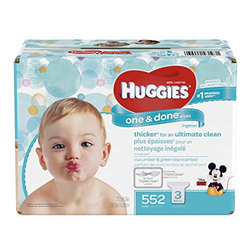 HUGGIES Refreshing Scented Alcohol free Hypoallergenic