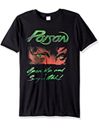Poison Open up and Say Ahhh Adult Short Sleeve T-Shirt