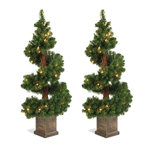 Lighted Outdoor Artificial Topiary in US - 2