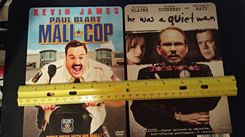 Blockbuster Video Store Ad cards Lot #1 Mall Cop & he was a quiet - Hollywood Stores Mall