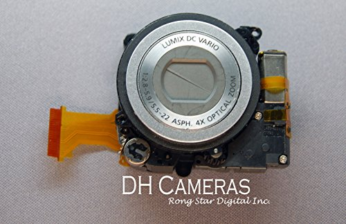 Panasonic Lumix DMC-FS4 LENS ZOOM UNIT ASSEMBLY Camera Silver A0488