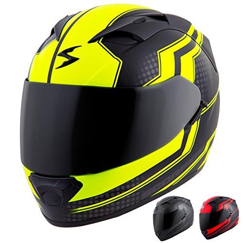 Scorpion EXO-T1200 Alias Street Motorcycle Helmet (Phantom, Small)
