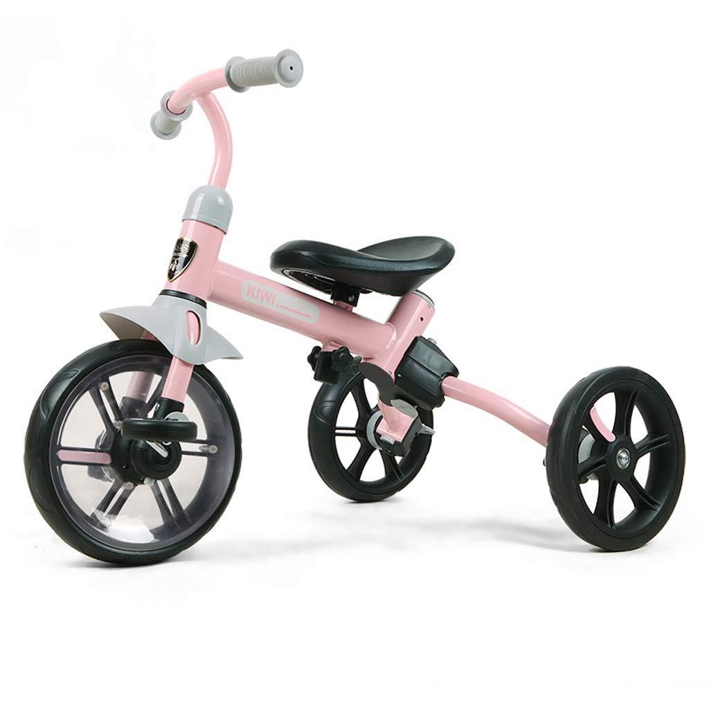【新発売】 2で1子供の三輪車子供のバランスバイク子供ペダル自転車2-5年古い多機能赤ちゃんキャリッジ男の子女の子おもちゃの車 (色 : Pink) Pink B07PTS7KL3 Pink B07PTS7KL3, 二次会の虎:8526d6e4 --- senas.4x4.lt