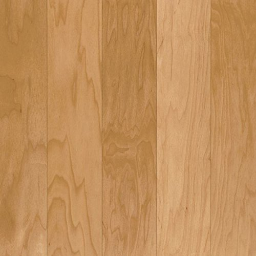 5 Maple Natural Hardwood Flooring - Armstrong ESP5240 Performance Plus Engineered Wide Plank Maple Hardwood Flooring, 3/8