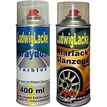 Autolack 2 Spraydosen Im Set In Ihrer Wunschfarbe 1x400ml Farbe
