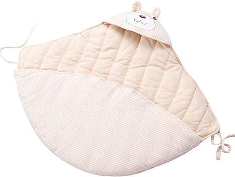 Suave y cómodo saco de dormir neutral para bebés El edredón de algodón de color recién