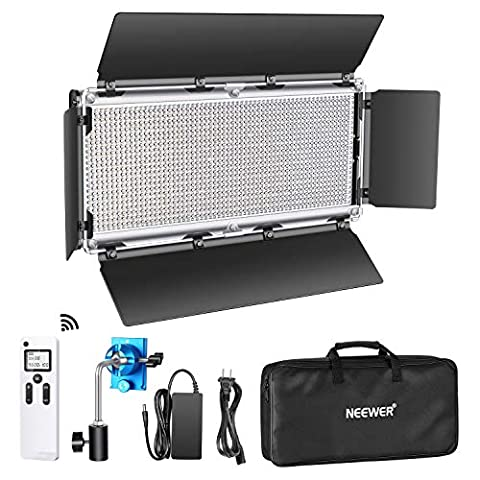 Neewer Advanced 2.4G 1320 LED Video Light with Barndoor, - Sale: $135.99 USD (15% off)