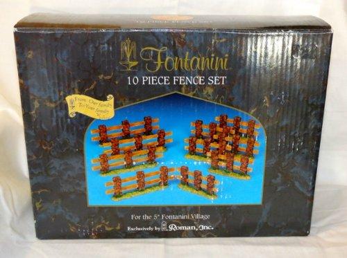 Fontanini, 10 Piece Fence Set - Fontanini Outdoor Nativity