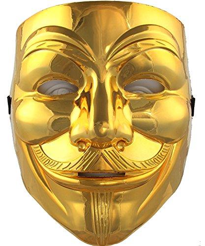 V For Vendetta Mask Fawkes Face Mask V2