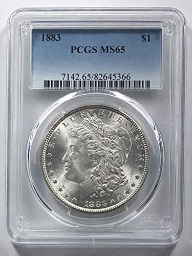 1883 P Morgan Silver Dollar $1 MS65 PCGS