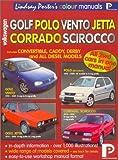 Volkswagen Golf, Polo, Scirocco, Corrado: Workshop Manual (Lindsay Porter's Colour Manuals) by Lindsay Porter (2001-04-04)