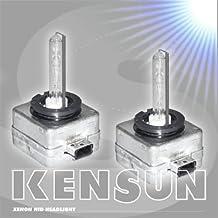 HID Xenon Low Beam Headlight Replacement Bulbs by Kensun - bulbs) - D1S - 10000K by Kensun
