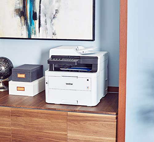Brother MFC-L3750CDW Digital Color All-in-One Printer, Laser Printer Quality, Wireless Printing, Duplex Printing, Amazon Dash Replenishment Enabled by Brother (Image #2)