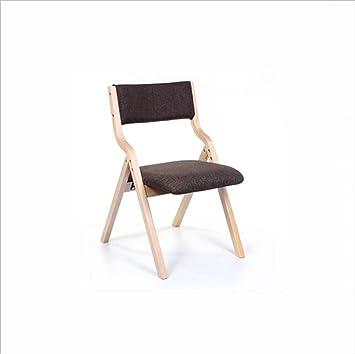 Massif Chair Pliable Simple Bois Accueil Portable Ql Chaise En xCeBordWEQ
