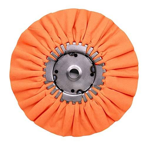 RENEGADE 9'' Orange Mill Treated Airway Buffing Wheel 16 PLY - Step 1 Cut