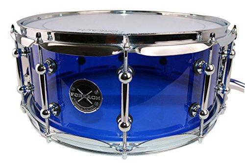 Foreach Crystal Acrylic Snare Drum 14