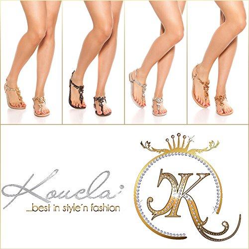 Koucla Escarpins pour Femme Champagne B2SyalUb