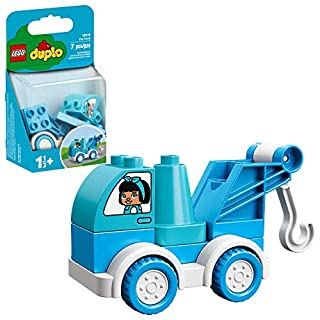 LEGO DUPLO My First Tow Truck 10918 Educational Tow Truck Toy, Great Gift for Kids Ages 1 1/2 and up, New 2020 (7 Pieces)