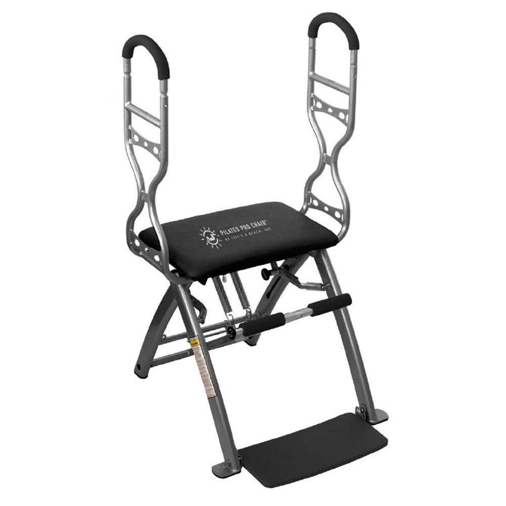 Amazon.com : Life's A Beach Pilates PRO Chair Max with Sculpting Handles +  Shape Transform & Reform + Total Gym Home Workout + Adjustable Resistance  Levels ...