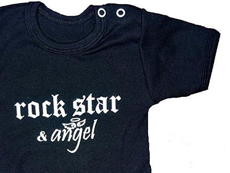 Baby Body Rock Star /& /Ángel/ /Cuerpo en blanco y negro Edici/ón limitada