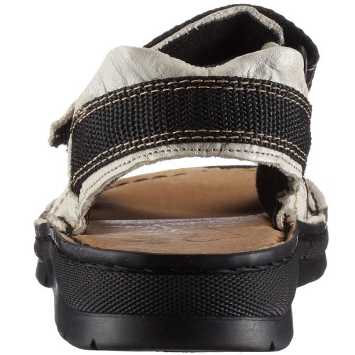 Rieker Lucy 63551-82 - Sandalias de cuero para mujer Blanco