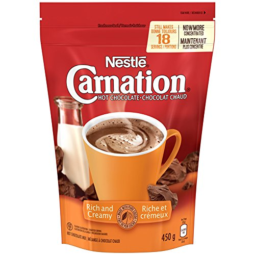 - Nestle Carnation Rich and Creamy Hot Chocolate Mix, 450g {Imported from Canada}