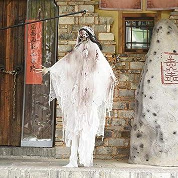 WXYXG Halloween Ghost Props - Idioma Que Brilla intensamente ...