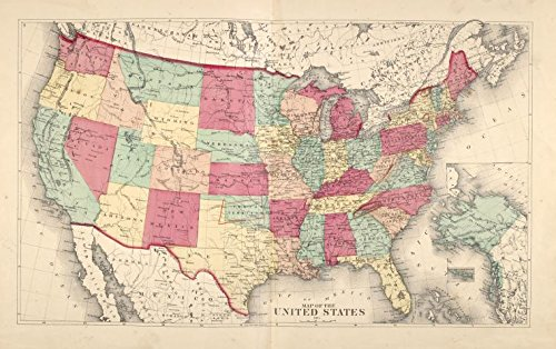Historic 1875 Map | Map of the United States | Madison County (N.Y.) | New York (State) | Madison CountyAtlases of the United States | Atlas of Madison County, New (Map 1875 Atlas)