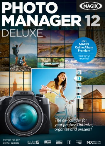 MAGIX Photo Manager 12 deluxe [Download] (Picture Manager Software)
