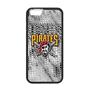 Baseball Pittsburgh Pirates Team Design Background for 4.7 inch Screen iPhone 6 TPU Case (Laser Technology)-by Allthingsbasketball