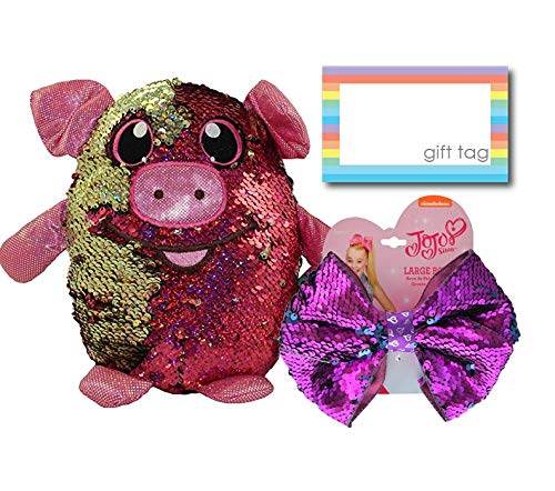 Shimmeez Reversible Sequin Plush and JoJo Siwa Sequined