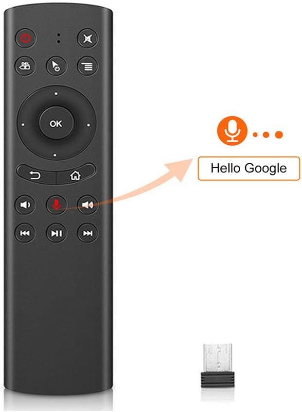 WeChip G20 Voice Remote Wireless Replacement Remote for Nvidia Shield/PC/Android TV Box/Smart TV