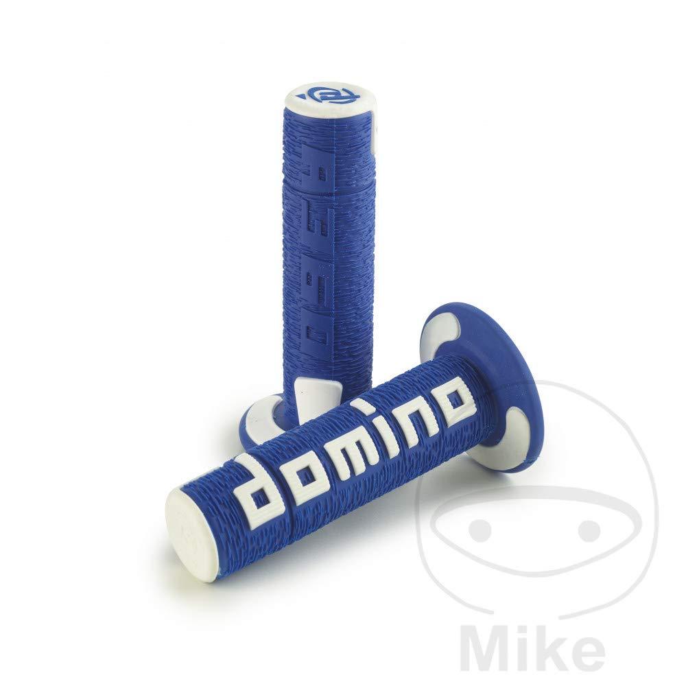 L.120 mm geschlossen Griffgummi blau//wei/Ã/Ÿ Domino D.22 mm