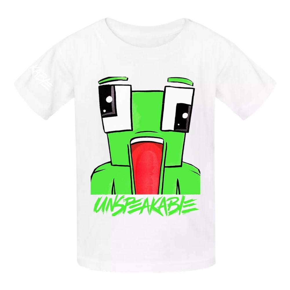 VOPSKJ14 Unspeakable Youth Cotton T-Shirts Unisex Child Short Sleeve Tee Shirt