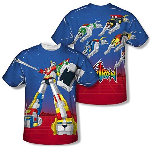 Voltron - Form Voltron (Front/Back) T-Shirt Size XXXL