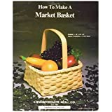 Commonwealth Basket Blue Ridge Basket Kits, Market Basket 10 inch by 10 inch by 9 inch with Handle