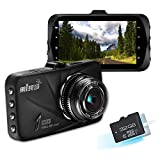 Napoer Full HD 1080P Dash Cam 170° View Angle Car DVR G50 Mini Dash Camera Recorder Night Vision G-sensor (Electronics)