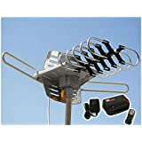 Outdoor 1080P HDTV Amplified Antenna Digital HD TV 150 Mile 360 Rotor UHF/VHF