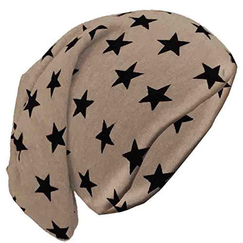 Estrellas de punto Brubaker Hellbraun Sterne hombre kleine Gorro para qPtEUO